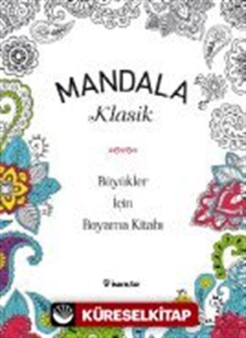 Mandala Klasik Buyukler Icin Boyama Kitabi Kollektif 25
