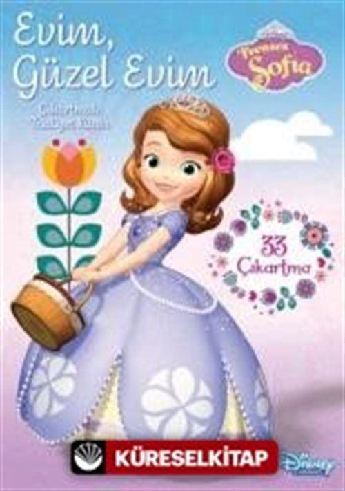 Disney Prenses Sofia Evim Guzel Evim Cikartmali Faaliyet Kitabi